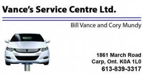 Vance's Service Centre